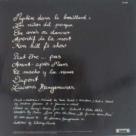 Liaisons Dangereuses LP