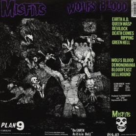 Earth A.D. / Wolfs Blood LP