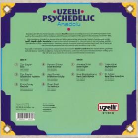 Uzelli Psychedelic Anadolu LP