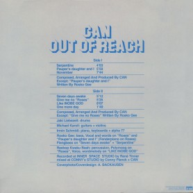 Out Of Reach LP