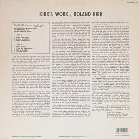 Kirk's Work LP